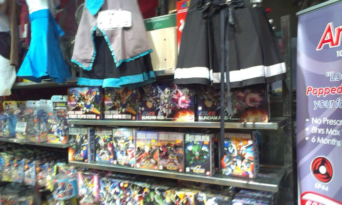 Tokyo Toys inside