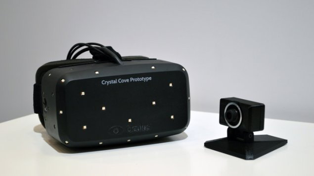 Oculus Rift Crystal Cove