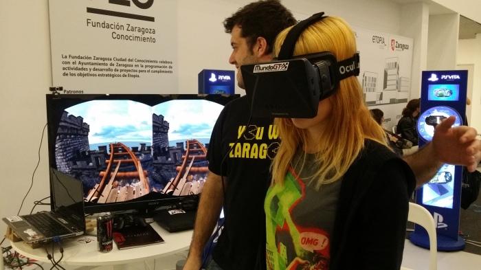 Nadie quiso perderse la experiencia Oculus Rift