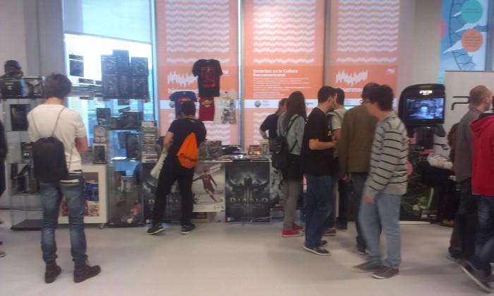 Los chicos de @Juegos20sl aprovecharon el You Win Zaragoza para presentar en sociedad su nueva tienda. ¡Visitadla!