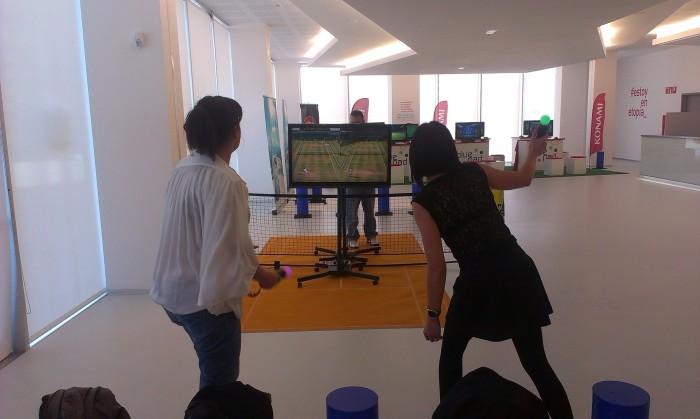 Hubo de todo y para todos los gustos, Virtua Tennis con PlayStation Move