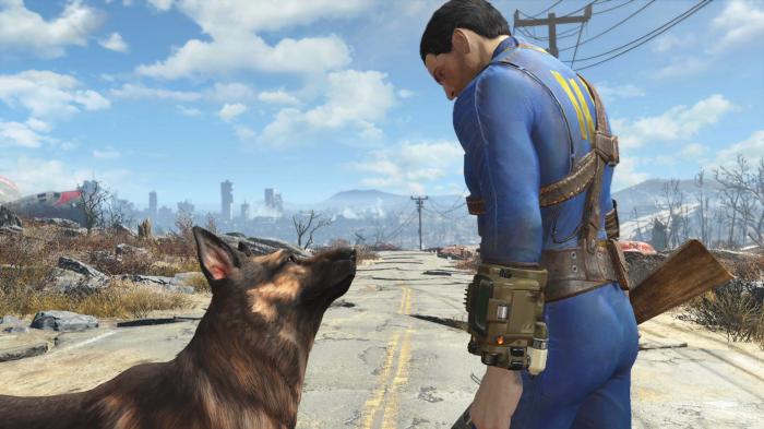 Imágenes de Fallout 4 tomadas de es.ign.com . No podemos esperar a jugar con el perrete.