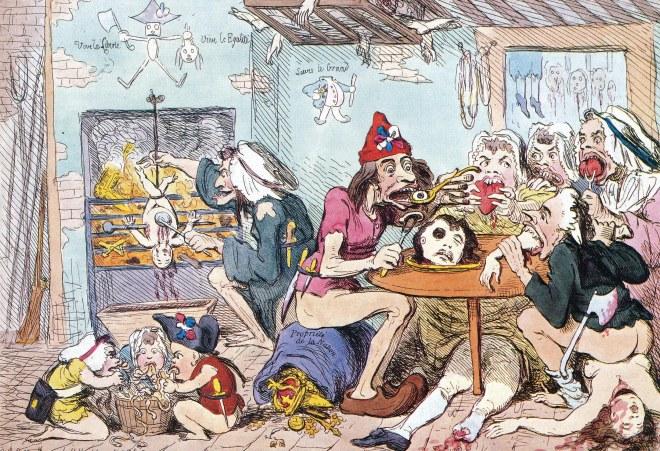 Este tipo de imágenes eran propagadas por los británicos, y son las que prevalecen hasta hoy. ¨La historia la hacen los vencedores¨...