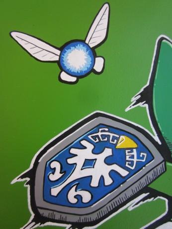Detalle Navi + escudo hyliano